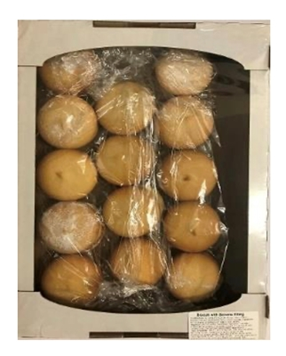 Picture of RAVSENTE - Biscuits with banana filling 460g