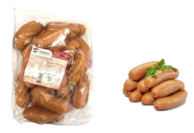 Picture of FOREVERS - Pork link sausages with dairy protein, 1.7-2.4kg £/kg ONLY PREORDER