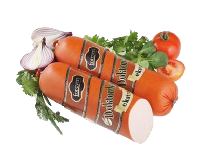 """Picture of FOREVERS - Boiled sausage """"Doctor's Extra"""", 2-2.2kg £/kg ONLY PREORDER"""