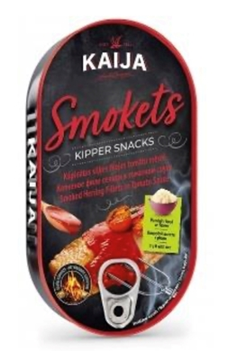 Picture of KAIJA - Smoked herring fillet in tomato sauce 170g (box*24)