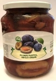 Picture of AVI TRADE - Plums in syrup, 720ml (box*12)