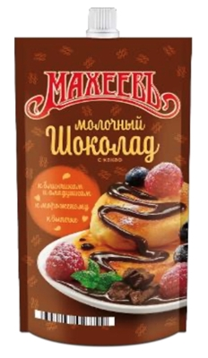 "Picture of MAHEEV - Topping ""Milk Chocolate"", 300g (box*16)"