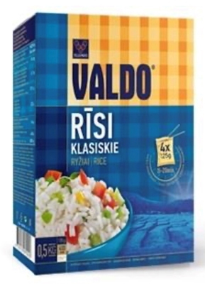 Picture of Valdo - Classic long grain rise / Risi gargraudu, 500g (4×125g) (box*12)