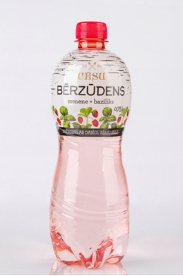 Picture of CESU ALUS - Birch water with strawberry and bazilic, 0.75L (box*12)