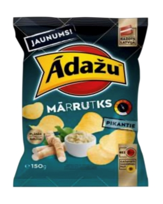 Picture of ADAZU - Chips with horseradish flavour 150g (box*18)