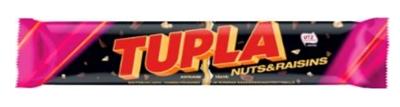 Picture of Cloetta - Tupla with nuts&raisins 80g (box*42)