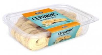 Picture of LATVIJAS MAIZNIEKS - Vanilla flavoured biscuits, 200g (box*16)