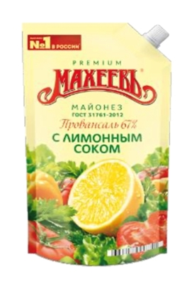 Picture of MAHEEV - Mayonnaise of Provence with lemon juice 67% Maheev, 400ml (box*20)
