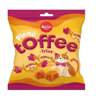 Picture of LAIMA - Milk toffee caramels 110g (box*32)