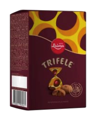 Picture of LAIMA - Chocolate sweets TRIFELE 190g (box*8)