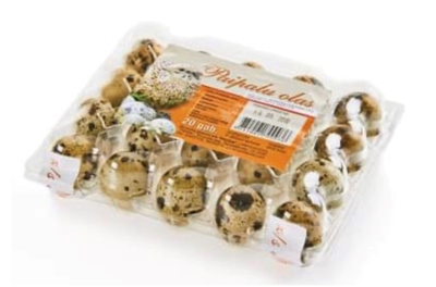 Picture of PUCITES - Quail eggs 20/160 - Muhe Muna (box*8)