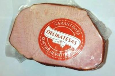"""Picture of BM - Hot smoked pork """"Aukstaiciu kepsnys"""", ±300g  £/kg"""