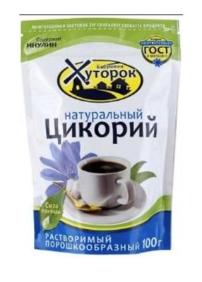 Picture of VOKRUG SVETA - Instant chicory «Бабушкин Хуторок», 100g