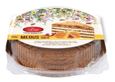 Picture of LACI - Honey cake (plastic box), 500g (box*6)