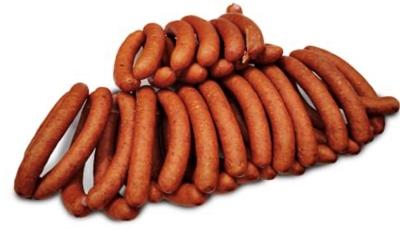 """Picture of DESU FABRIKA - Semi-smoked sausages """"Mednieku"""",~500g £/kg"""