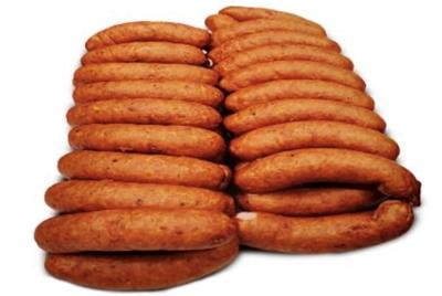 "Picture of DESU FABRIKA - Semi-smoked sausages ""Piknika"", ~500g £/kg"