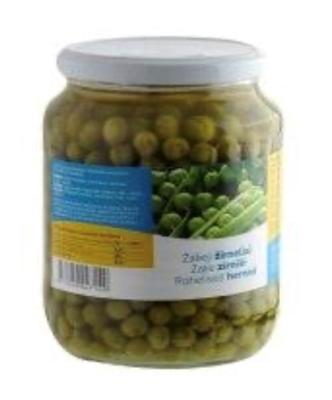 Picture of SANITEX - Green peas 690g (box*8)