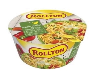 Picture of ROLLTON - Instant noodles ROLLTON with chicken taste cup 75g (box*24)