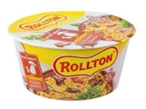 Picture of ROLLTON - Instant noodles ROLLTON with mushrooms cup 75g (box*24)