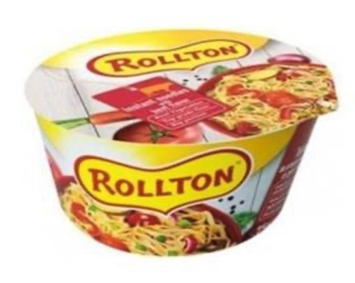 Picture of ROLLTON - Instant noodles ROLLTON with beef flavor cup 75g (box*24)