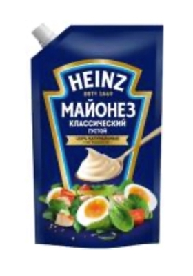 Picture of HEINZ - Mayonnaise Classic 67% 350g (box*12)
