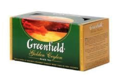 "Picture of GREENFIELD - ""Golden Ceylon"" Black Tea 25x2g (box*10)"