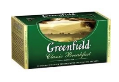 "Picture of GREENFIELD - ""Classic Breakfast"" Black Tea 25x2g (box*10)"