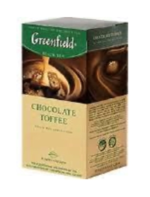 """Picture of GREENFIELD - """"Chocolate Toffee"""" Black Tea 25x1,5g (box*10)"""