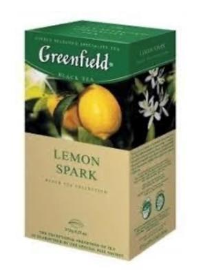 "Picture of GREENFIELD - ""Lemon Spark"" Black Tea 25x1.5g (box*10)"