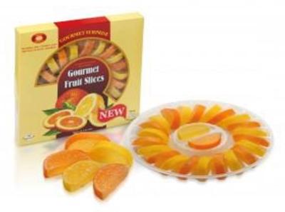 Picture of KONDIS - Jellies orange lemon mix slice 265g (box*12)