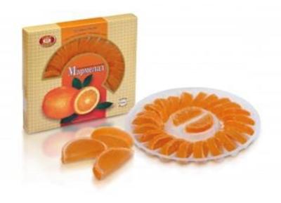 Picture of KONDIS - Jellies orange slice 265g (box*12)