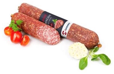 """Picture of FOREVERS - Cold smoked sausage """"Klasiska"""" ~300g £/kg"""