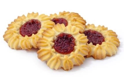 Picture of ADUGS - Cookies Daisy with jam 350g (box*20)