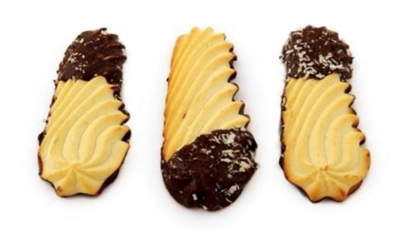 Picture of ADUGS - Cookies FIRCONES with cacao glaze 350g (box*20)
