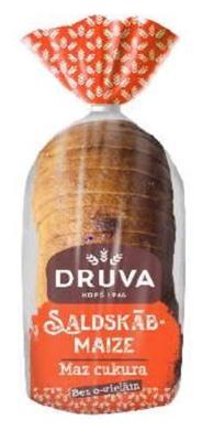 Picture of FAZER - Rye light loaf bread Druva 700g (box*10)