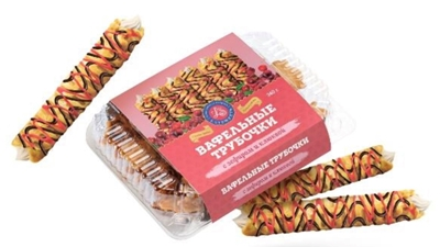 Picture of LATSWEETS - Waffles with marshmallow and cranberries 340g (box*12)