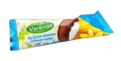 Picture of Varenos Pienelis - Curd Dessert in waffle with Vanilla 39g (box*8)