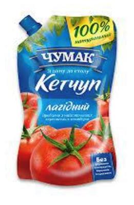 Picture of CHUMAK - Ketchup 270g (box*22)