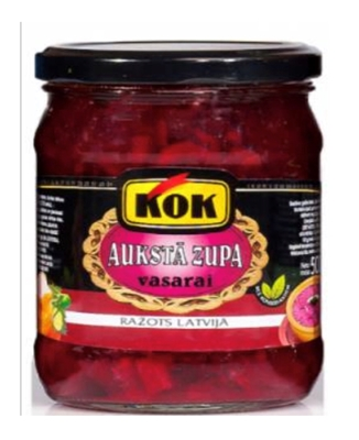 """Picture of KOK - Cold soup """"Vasara"""" 500g (box*8)"""