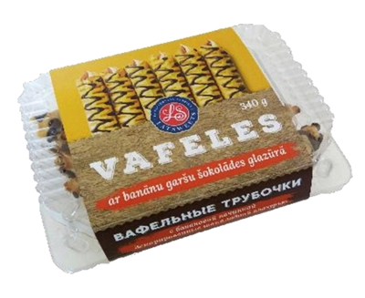 Picture of LATSWEETS - Waffles with marshmallow and chocolate, 340g (box*12)