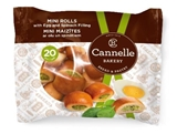 Picture of CANNELLE BAKERY SIA - Mini Rolls with egg and spinach filling 240g (box*12)