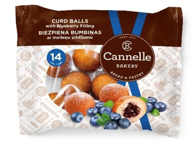 Picture of CANNELLE BAKERY SIA - Curd balls with blueberry filing 210g (box*12)