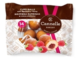 Picture of CANNELLE BAKERY SIA - Curd balls with raspberry filing 210g (box*12)