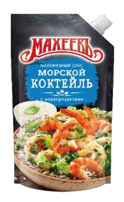 Picture of MAHEEV - Mayonnaise sauce with seafood 200ml (box*20)