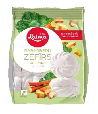 Picture of LAIMA - Rhubarb marshmallow 200g (box*12)