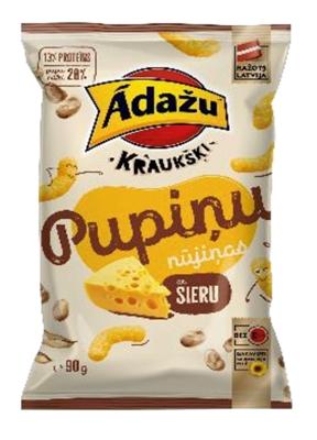 Picture of ADAZU - Ādažu Kraukšķi Bean doodles with cheese 90g (box*18)