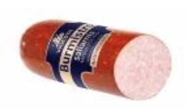 "Picture of VIGESTA - Hot Smoked Salami ""Burmistro"" 450g £/pcs"