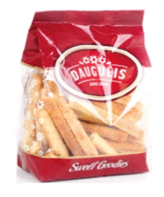 Picture of SIA DAUGULIS - Cheese flavour biscuits 200g (box*12)