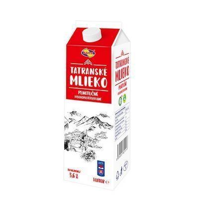 Picture of FRESH FULL FAT MILK MILK 3.6% 1l TAMI radi. 10 days life (box*8)