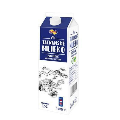 Picture of FRESH HALF-MILK MILK 1.5% 1l THERE (box*4)